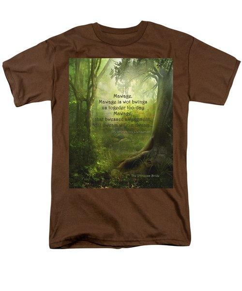 The Princess Bride - Mawage Men's T-Shirt  (Regular Fit) by Paulette B Wright
