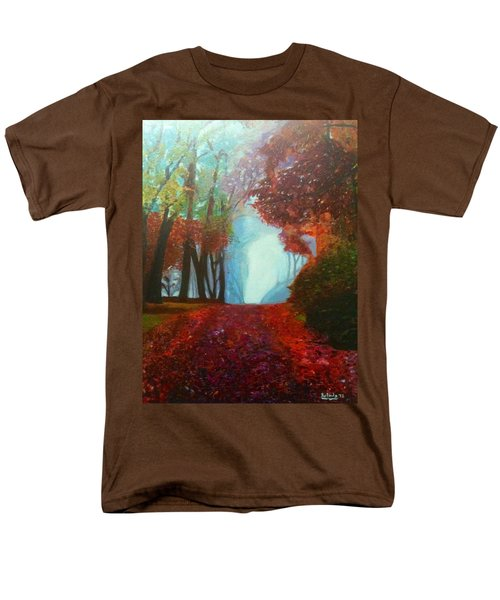 The Red Cathedral - A Journey Of Peace And Serenity Men's T-Shirt  (Regular Fit) by Belinda Low