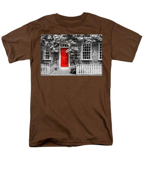 The Red Door Men's T-Shirt  (Regular Fit) by Sabine Jacobs