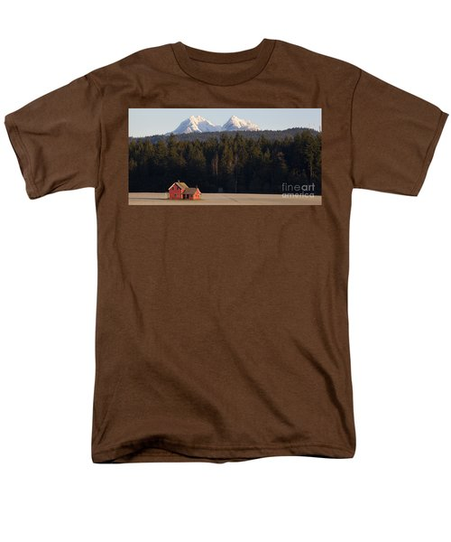 The Red House Men's T-Shirt  (Regular Fit)