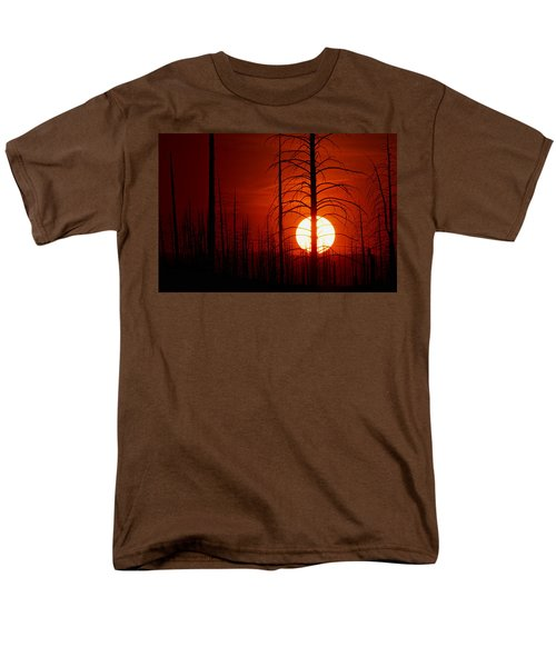 The Red Planet Men's T-Shirt  (Regular Fit) by Jim Garrison