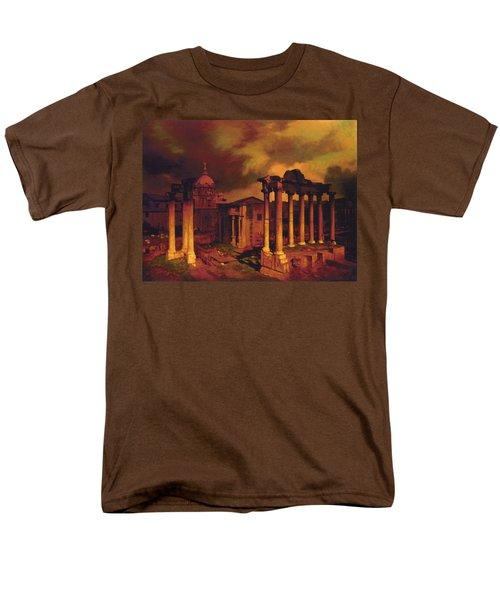 The Roman Forum Men's T-Shirt  (Regular Fit) by Blue Sky