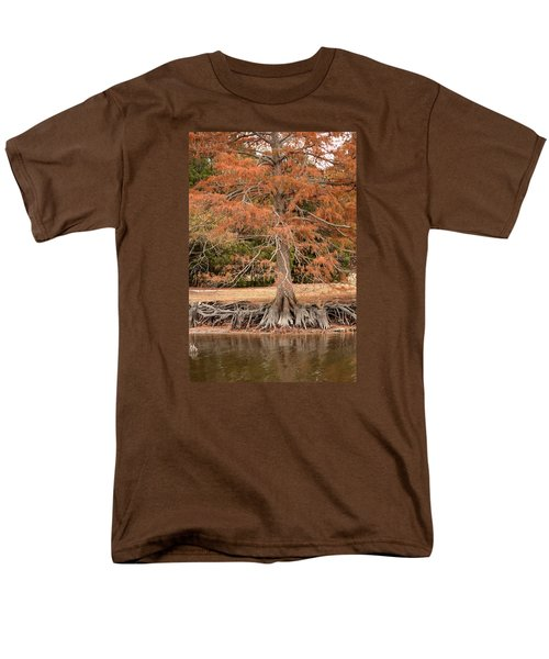 Men's T-Shirt  (Regular Fit) featuring the photograph The Root Of It All by Rebecca Davis