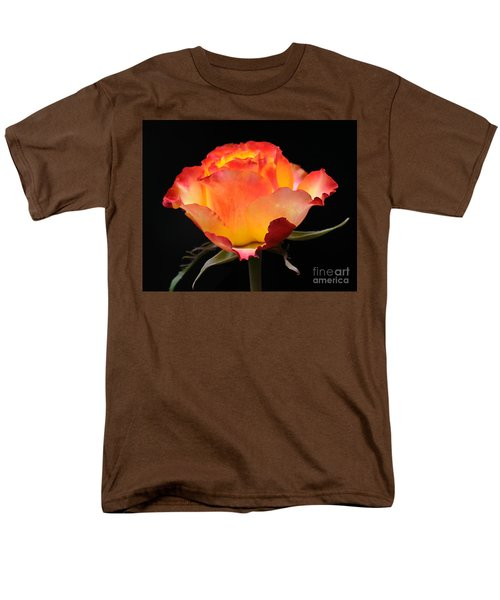 Men's T-Shirt  (Regular Fit) featuring the photograph The Rose by Vivian Christopher