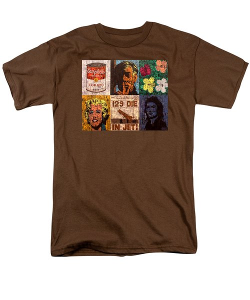 The Six Warhol's Men's T-Shirt  (Regular Fit) by Brent Andrew Doty