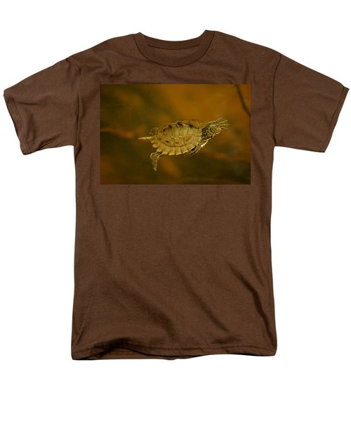 The Southeastern Map Turtle Men's T-Shirt  (Regular Fit) by Kim Pate