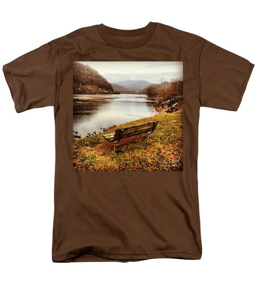 Men's T-Shirt  (Regular Fit) featuring the photograph The View by Kerri Farley