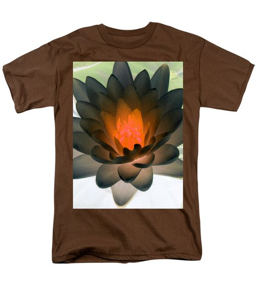 Men's T-Shirt  (Regular Fit) featuring the photograph The Water Lilies Collection - Photopower 1036 by Pamela Critchlow
