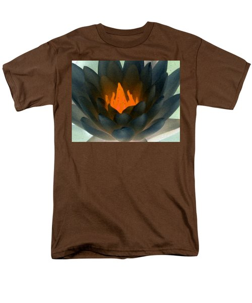 Men's T-Shirt  (Regular Fit) featuring the photograph The Water Lilies Collection - Photopower 1038 by Pamela Critchlow