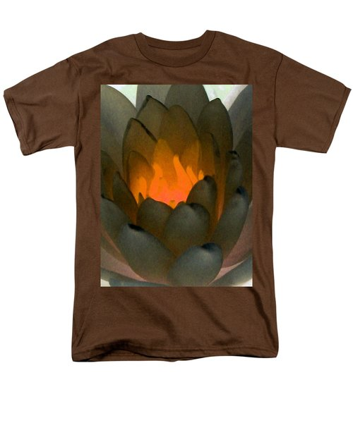 Men's T-Shirt  (Regular Fit) featuring the photograph The Water Lilies Collection - Photopower 1043 by Pamela Critchlow