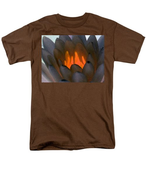 Men's T-Shirt  (Regular Fit) featuring the photograph The Water Lilies Collection - Photopower 1044 by Pamela Critchlow