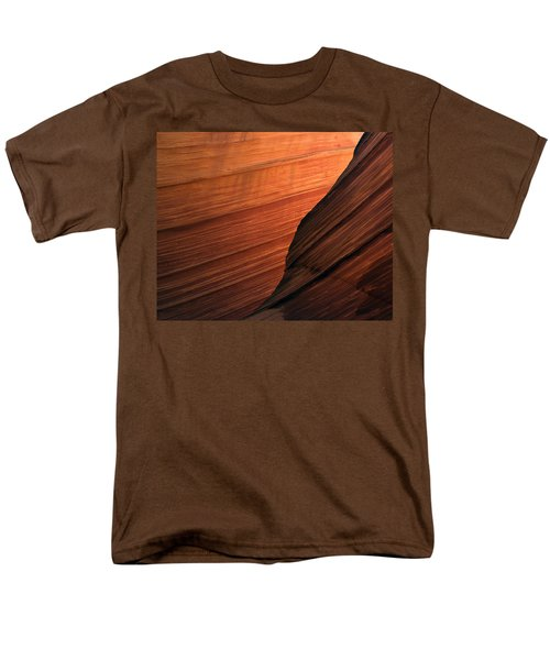 Men's T-Shirt  (Regular Fit) featuring the photograph 'the Wave' North Coyote Buttes 47 by Jeff Brunton