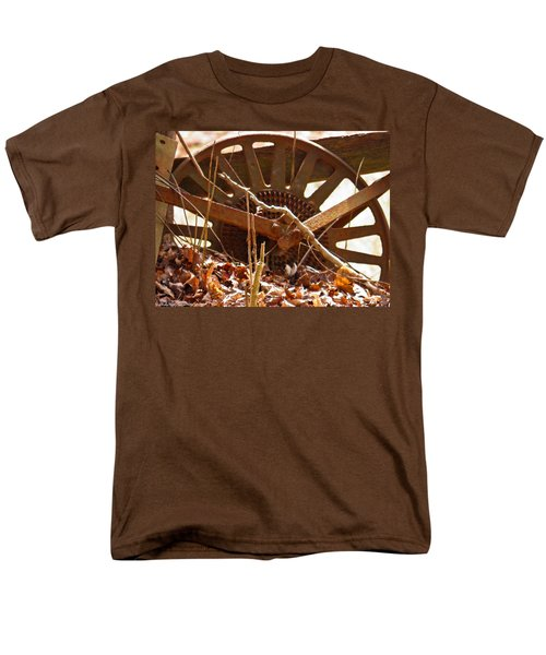 Men's T-Shirt  (Regular Fit) featuring the photograph The Wheel Of Planting by Nick Kirby