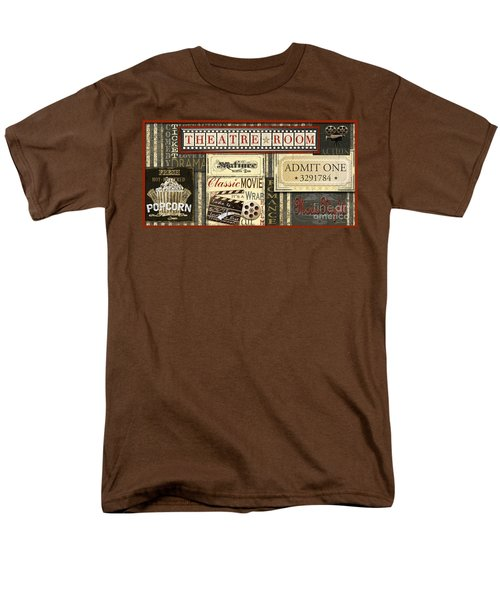 Theatre Room Men's T-Shirt  (Regular Fit) by Jean Plout