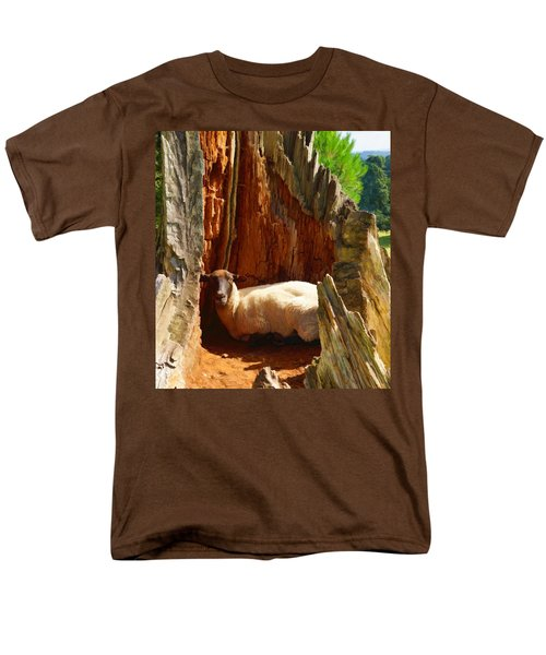 This Is My Spot Men's T-Shirt  (Regular Fit) by Ron Harpham