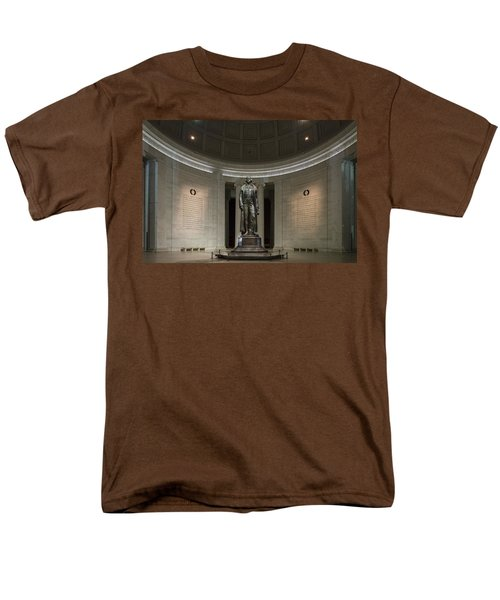 Men's T-Shirt  (Regular Fit) featuring the photograph Thomas Jefferson Memorial At Night by Sebastian Musial