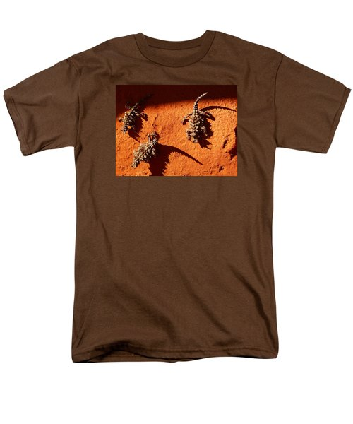 Men's T-Shirt  (Regular Fit) featuring the photograph Thorny Devils by Evelyn Tambour