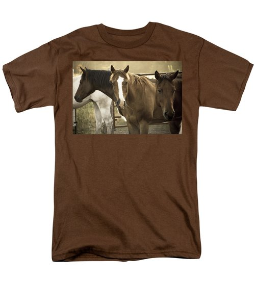 Men's T-Shirt  (Regular Fit) featuring the photograph Three Amigos by Steven Bateson