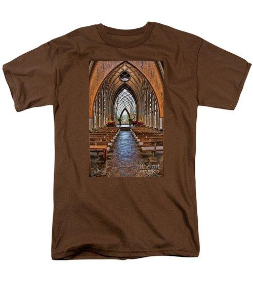 Through These Doors Men's T-Shirt  (Regular Fit) by Elizabeth Winter