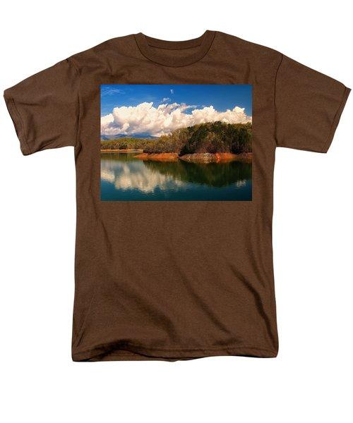 Thunderstorm Rolling Over The Smokies Men's T-Shirt  (Regular Fit) by Chris Flees