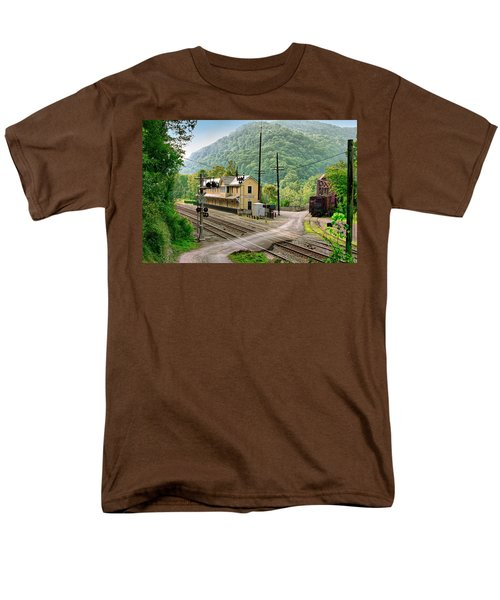 Thurmond After The Rain Men's T-Shirt  (Regular Fit) by Mary Almond