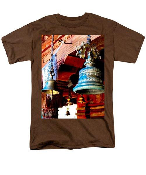 Tibetan Bells Men's T-Shirt  (Regular Fit) by Greg Fortier