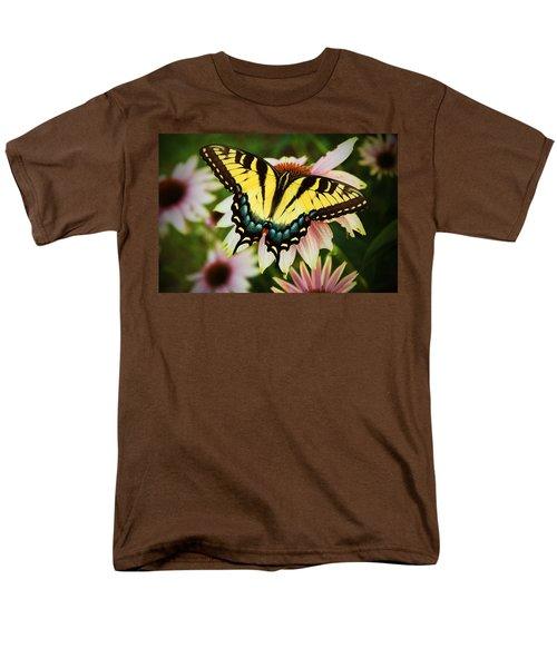 Tiger Swallowtail Butterfly Men's T-Shirt  (Regular Fit) by Michael Porchik