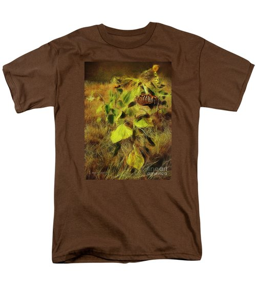 Men's T-Shirt  (Regular Fit) featuring the digital art Time Is The Enemy by Rhonda Strickland