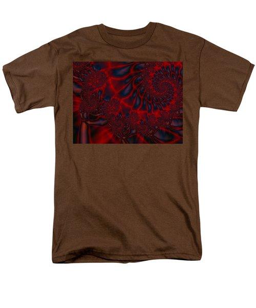 Men's T-Shirt  (Regular Fit) featuring the digital art Time Slide by Elizabeth McTaggart