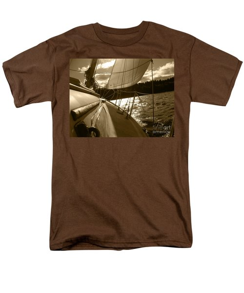 Time To Jibe  Men's T-Shirt  (Regular Fit) by Kym Backland