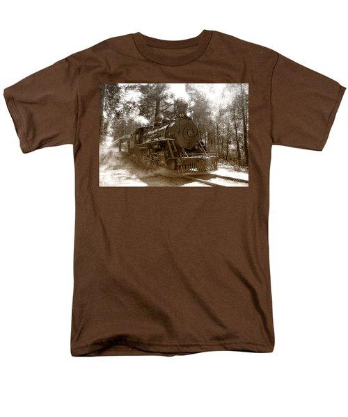Time Traveler Men's T-Shirt  (Regular Fit) by Donna Blackhall