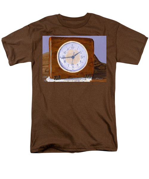 Men's T-Shirt  (Regular Fit) featuring the painting Time Will Tell by Lynne Reichhart
