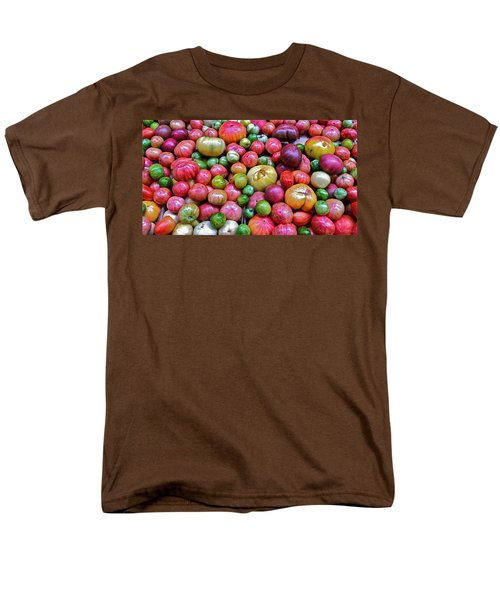 Men's T-Shirt  (Regular Fit) featuring the photograph Tomatoes by Bill Owen