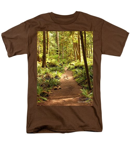 Trail Through The Rainforest Men's T-Shirt  (Regular Fit)