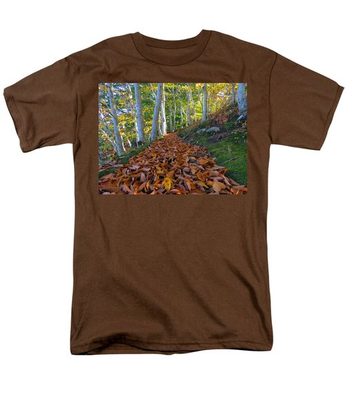 Men's T-Shirt  (Regular Fit) featuring the photograph Trailblazing by Dianne Cowen