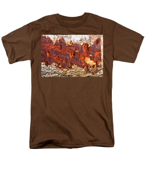 Tree Closeup - Wood Texture Men's T-Shirt  (Regular Fit) by Matthias Hauser