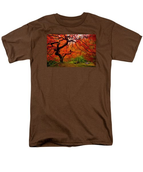 Tree Fire Men's T-Shirt  (Regular Fit) by Darren  White