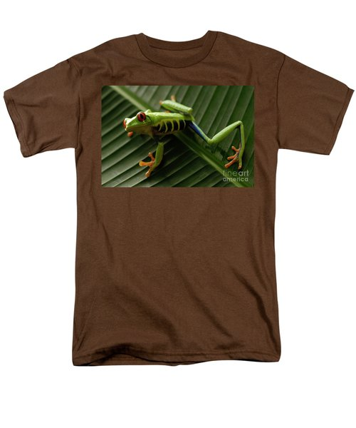 Tree Frog 16 Men's T-Shirt  (Regular Fit) by Bob Christopher