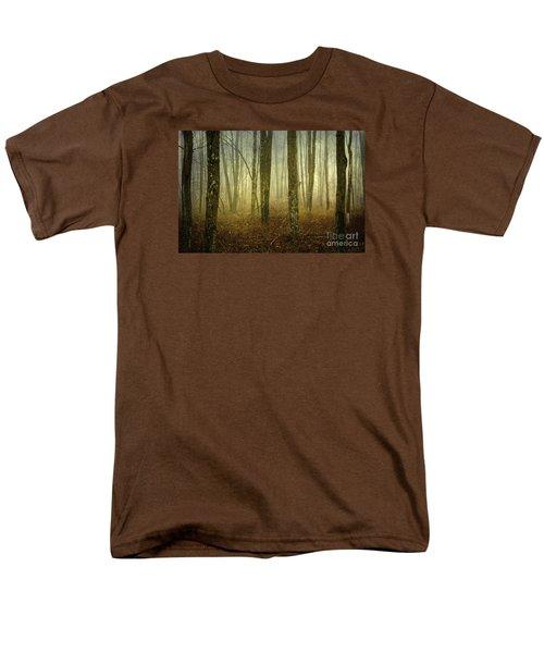 Trees II Men's T-Shirt  (Regular Fit) by Debra Fedchin