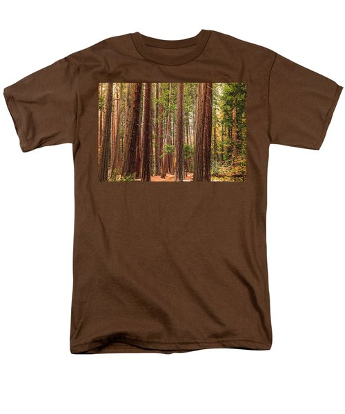 Trees Of Yosemite Men's T-Shirt  (Regular Fit) by Muhie Kanawati