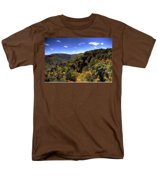 Men's T-Shirt  (Regular Fit) featuring the photograph Trees Over Rolling Hills by Jonny D