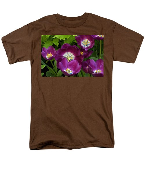 Triumph Tulips Negrita Variety Men's T-Shirt  (Regular Fit) by Byron Varvarigos