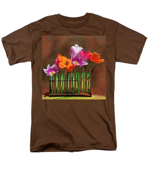 Tulip Experiments Men's T-Shirt  (Regular Fit) by Jeff Burgess