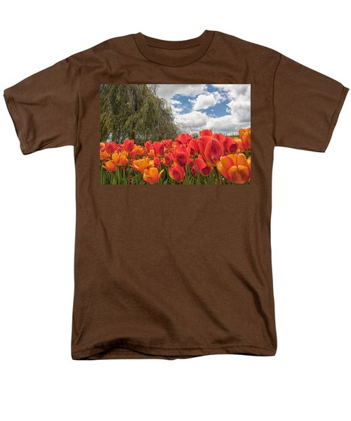 Tulips Men's T-Shirt  (Regular Fit) by Brian Caldwell