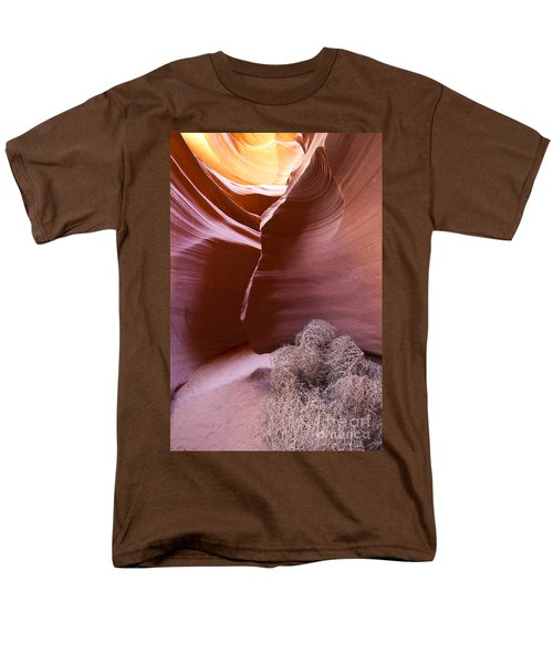 Men's T-Shirt  (Regular Fit) featuring the photograph Tumbleweed In The Canyon by Bryan Keil