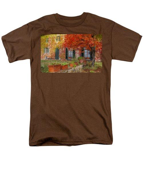 Tuscan Villa In Autumn Men's T-Shirt  (Regular Fit)