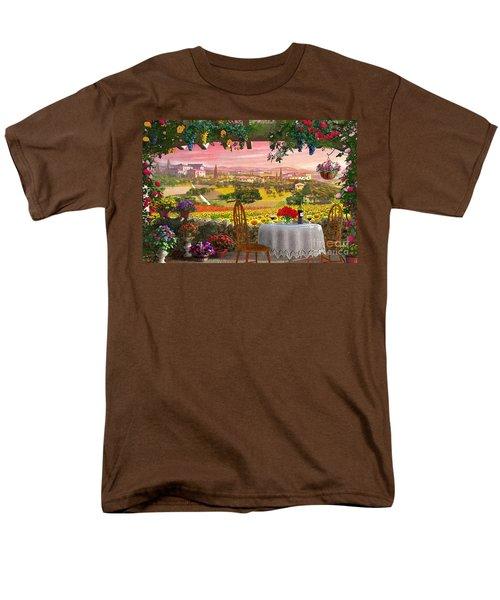 Tuscany Hills Men's T-Shirt  (Regular Fit) by Dominic Davison