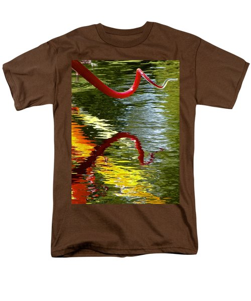 Twisted Ripples Men's T-Shirt  (Regular Fit) by Charlie Brock
