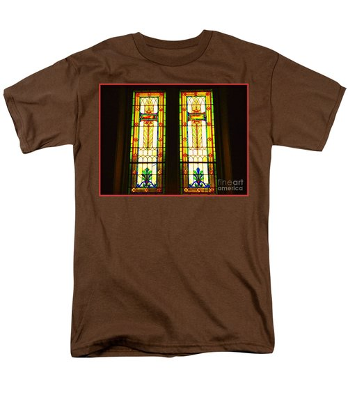 Two Beauties Men's T-Shirt  (Regular Fit) by Becky Lupe