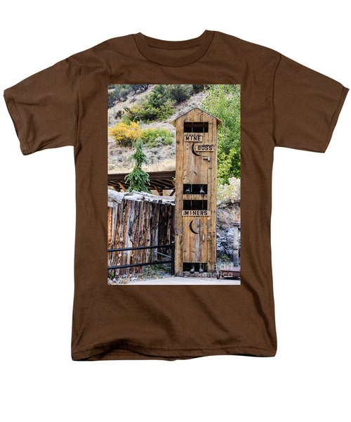 Two-story Outhouse Men's T-Shirt  (Regular Fit) by Sue Smith
